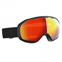 Masque de Ski Scott Fix black, écran enhancer red chrome