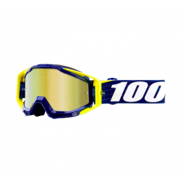 Masque de vélo 100% Racecraft Goggle Bibal Navy Bleu