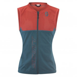 Gilet de protection Scott Actifit Plus Light femme bleu / rouge