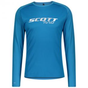 Scott Maillot à manches longues homme Trail Tuned Bleu