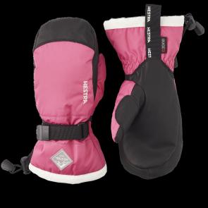 Gants de ski Hestra Gauntlet Czone Junior Mitt Rose
