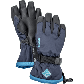 Gants de ski Hestra Gauntlet Czone Junior blue
