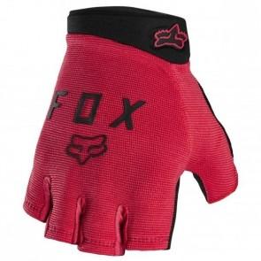 FOX Gants courts Ranger Short Gel rouge - Gants de vélo courts