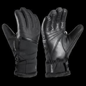 Leki gants de ski Snowfox 3D Femme noir