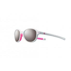 Lunettes de soleil Julbo Junior Frisbee blanc / rose SP3+
