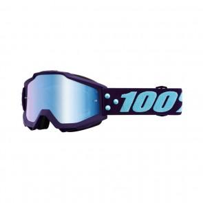 Masque de Vélo Ride 100% Accuri bleu foncé