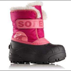 Bottes Après-ski Sorel Snow Commander Junior Rose