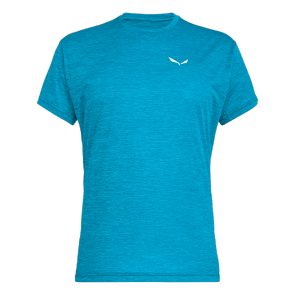 Salewa T-shirt PUEZ MELANGE DRY Bleu