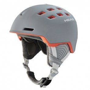 Casque Head Rita gris / corail