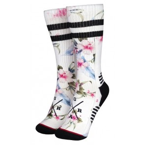 Chaussettes Loose Riders Blanc Homme