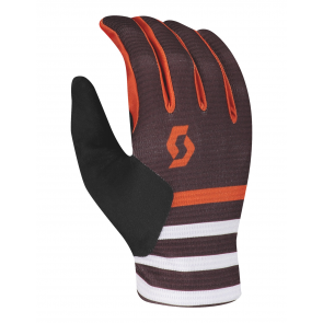 Gants Scott Ridance LF bordeau / orange - Gants VTT Scott