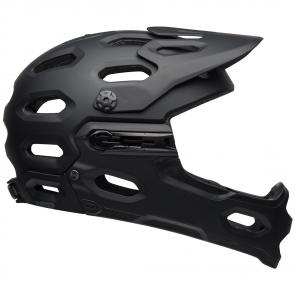 Casque VTT Bell Super 3R MIPS noir matt - casque VTT Downhill Intégral *
