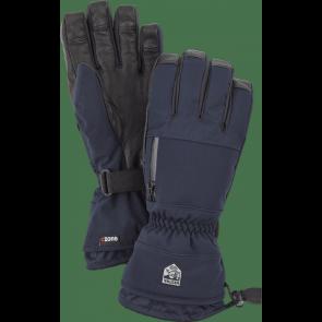 Gants de ski Hestra Czone Pointer 5 Finger bleu marine