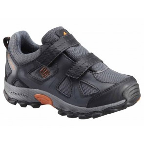 Chaussure Columbia Peakfreak XCRSN Low-Cut WP gris / orange Enfant