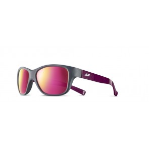Lunettes de soleil Julbo Turn junior gris / prune SP3CF rose