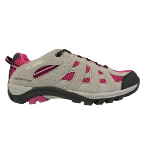 Chaussures Columbia enfants Redmond  Explore Waterproof gris / rose