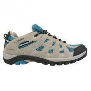 Chaussures Columbia enfants Redmond  Explore Waterproof gris / bleu
