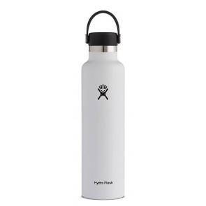 Hydro Flask 24 oz Standard Mouth 0.709 L Blanc