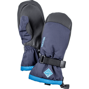 Gants de ski Hestra Gauntlet Czone Junior Mitt bleu marine / turquoise