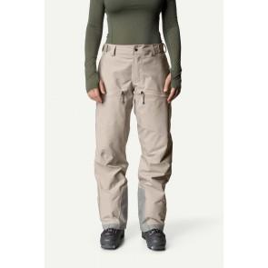 Houdini Hardshell pantalon de ski femme - W's Purpose Pants Beige