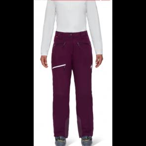Mammut Pantalon de ski Stoney HS Thermo Femme Violet