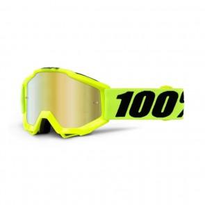 MTB Goggle Ride 100% Accuri Youth Fluo Gelb Goggle