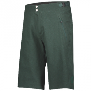 Scott Trail Flow Pro Shorts mit Hosenpolster für Herren Grun