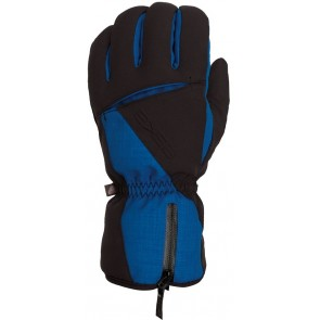Skihandschuh Eska Clear Black / Imperial Blue