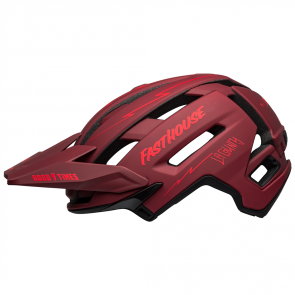 Bell Super Air MIPS MTB-Helm rouge fasthouse - Unisex Fahrradhelm