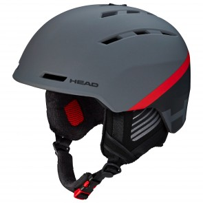 Helme Head Varius anthracite / red