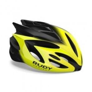 MTB Helm Rudy Project Rush Helm gelb fluo schwarz - Fahrradhelm