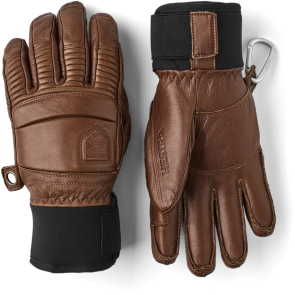 Handschuh Hestra Leather Fall Line 5-finger Braun