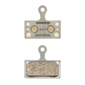 MTB Bremsbelag Shimano G04Ti Metall