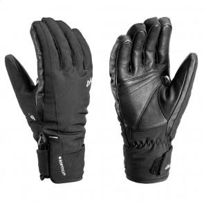 Leki Cerro S damen schwarz handschuhe