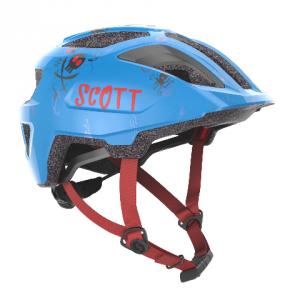 SCOTT MTB-Helm Spunto Junior Helm Surf Blau