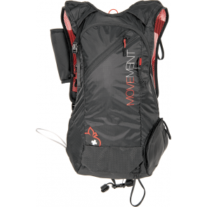 Movement Skialpi 24 black/red rucksack