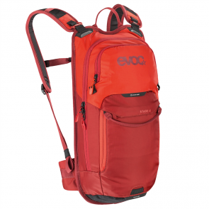 Evoc Stage 6L MTB Rucksack + 2L bladder rot / orange