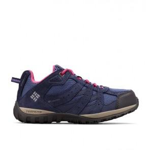 Schuhe Columbia Kinder Redmond Waterproof bluebell / rosa