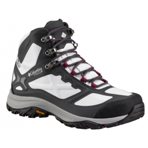 Chaussures Columbia Terrebonne Outdry Extreme mi-montantes femme blanche