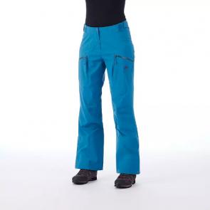 Damen Skitourenhose - Mammut Mammut Haldigrat HS Blau