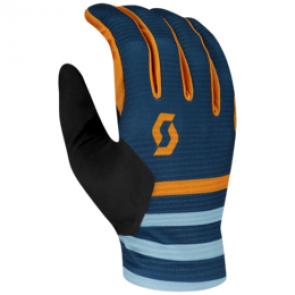 Scott Ridance LF Handschuh blau / orange - Fahrradhandschuhe
