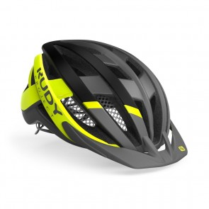 MTB Helm Rudy Project Venger Cross Helm titanium-gelb - Fahrradhelm