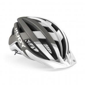 MTB Helm Rudy Project Venger Cross Helm weiss-grau - Fahrradhelm