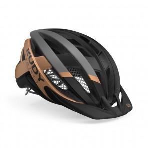 MTB Helm Rudy Project Venger Cross Helm schwarz-bronze - Fahrradhelm