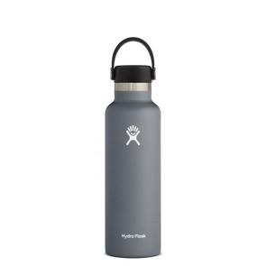 Hydro Flask 21 oz Standard Mouth 0.621 L Grau