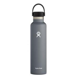 Hydro Flask 24 oz Standard Mouth 0.709 L Grau