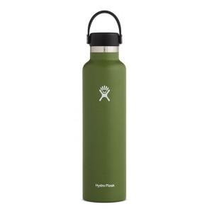 Hydro Flask 24 oz Standard Mouth 0.709 L Olive