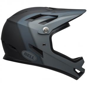 MTB-Fullface-Helme Bell Sanction Schwarz Matt