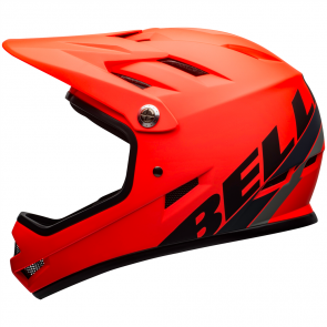 MTB-Fullface-Helme Bell Sanction orange matt / schwarz