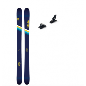Faction Candide Thovex 2.0 : All-Mountain Freestyle-Ski + Marker Squire 11 Bindunge